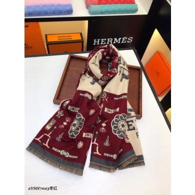 Copy Hermes Silk Scarf- 21 RS05299