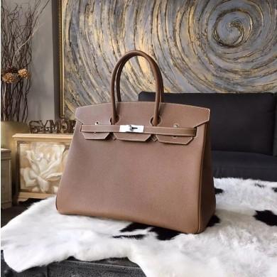 Hermes Birkin 30cm Epsom Calfskin Bag Handstitched Gold Hardware, Alezan 3G RS10902