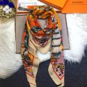 Imitation Hermes Silk Shawl Camel RS17752