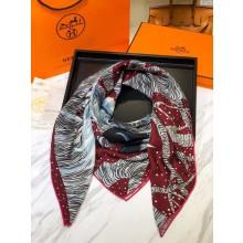 Hermes Satin Silk Scarf - 13 RS10317