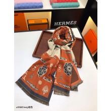 Hermes 90cm Silk Scarf- 10 RS15749
