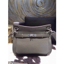 Hermes Jypsiere 28cm Gypsy Bag Elephant Gray 6C Togo Palladium RS01182
